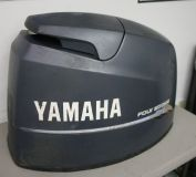 Purchase USED 80 HP YAMAHA 4 STROKE OUTBOARD COWLING HOOD motorcycle in Scottsville, Kentucky, United States, for US $119.00