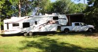 2008 Montana fifth wheel and Dodge truck (Mt Sylvan)