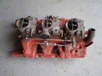 1964 Pontiac tri power intake & carburetors 389 421 tripower 1961 1962 1963 1964 PART NUMBER 9775088