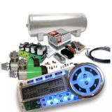 Sell Helix Dual Compressor 8 Preset Digital Air Suspension Controller Kit (No Bags) motorcycle in Portland, Oregon, United States, for US $826.20