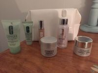 Clinique lot & new bag. I did try the repair others are new. All for $10