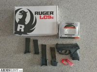 For Sale/Trade: Ruger LC9s with Lasermax trigger mounted laser 4 mags