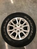 4 GMC factory rims and tires