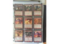 Magic: The Gathering Binder W/ Cards