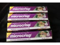 4 NEW Boxes of Microcrisp Microwave Crisping Browning Wrap