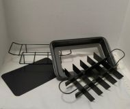 Brownie Pan (New) with Divider and Rack