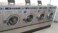 Good Condition Dexter Front Load Washer Double Load Coin Op T300 3PH WCN18ABSS Stainless Steel