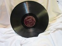 "His master's voice 5645 dorsey 78 rpm record etched album 10"" double sided"