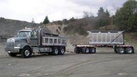 We finance  dump trucks & construction equipment