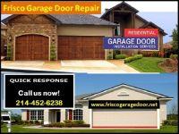 Top Most Quality Garage Door Repair Company in Frisco, TX