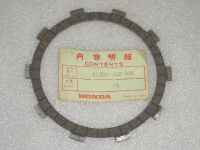 Purchase Honda CB175 CL175 SL175 CB200 CL200 CB350F CB400F XL500S Clutch Disk OEM NOS motorcycle in Kerrville, Texas, US, for US $6.95