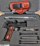 """For Sale: SPRINGFIELD ARMORY 9 MM EMP 3"""" + LEATHER HOLSTER & 3 MAGAZINES"""