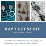 3 purchases $3 off