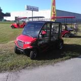 GOLF CARTS WITH AIR CONDITIONING HEAT RADIO CALL CROWN GOLF CARTS