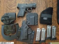 For Sale: S&W M&P Shield plus Extra Magazines and Holsters