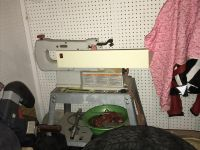 Rigid Scroll saw sixteen inch with stand