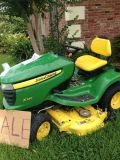 REDUCED PRICE2012 John Deere tractor mower