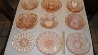 Collectable Pink Dishes lot 1A