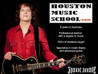 Want GUITAR LESSONS from a PRO - Houston Music School