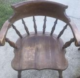 Solid Wood Heavy & Sturdy Captain Chair #1