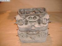 VW Bug dual port heads rebuildable no cracks