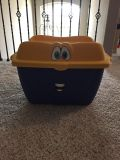 Step 2 toy bin box tote in used condition. Some marks and dents but still a sturdy and useable box. PPU in Cypress