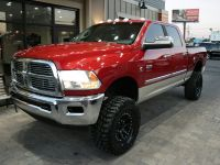 2010 Dodge Ram 2500 SLT (Inferno Red Crystal Pearl)