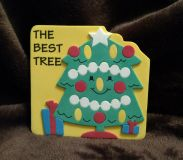 Christmas tree story, New, Foam covered Board Book