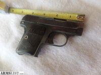 For Sale: Colt Auto 25