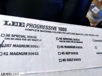 For Sale: Lee pro 1000 progressive press
