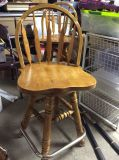 Set of 3 swivel Counter Height Chairs