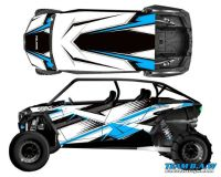 Purchase Polaris 4 RZR 1000 xp Design MXVEC 019 Decal Graphic Kit Wraps UTV Turbo Scoop motorcycle in Ogden, Utah, United States, for US $449.99
