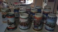 Christmas Beer Stein Collection