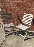 Wooden Patio Chairs Set of 2