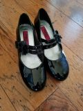 Girls Patent Leather Dress Shoes, Size 3