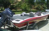 2009 Stratos 186XT Bass Fishing Boat
