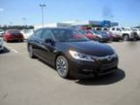 2017 Honda Accord Hybrid Black, 16 miles