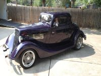 1934 Ford 3 Window Coupe-350 Chevy Motor