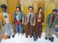 1976 Mattel WELCOME BACK KOTTER Action Figure LOT X5 John