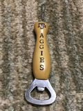 Texas A&M Aggies bottle opener. NWOT. Giftable. Hand size for reference.