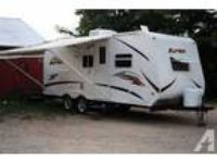 2010 Forest River Viking Apex 22QBS Travel Trailer in Belle Plaine, KS