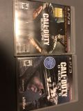 COD bo1 and ghosts for PS3