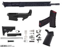 For Sale: 80% AR15 5.56 RIFLE KIT FREE FLOAT UPPER BUILD