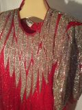Be-Dazzled Red stunning Dress