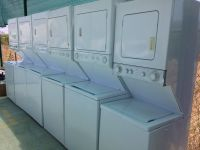Stackable Washer and Dryer Units