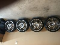 12 inch BMW Rims and tires/staggered chrome. In excellent condition. Must go ASAP!!! Only seriou...