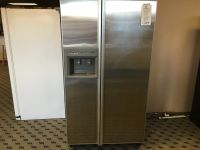 Amana Stainless Side by Side Refrigerator - USED