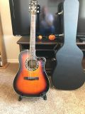 Fender T-Bucket 300 CE 3TS Accustic  Electric Guitar  Case