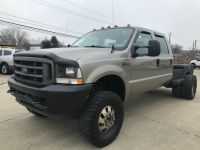 2004 Ford Super Duty F-350 DRW DUALLY 4X4 DIESEL POWERSTROKE CREW CAB WELDING BED