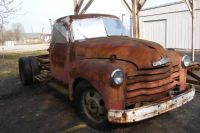 1953 Chevrolet 1400 Series Dually Stake Truck